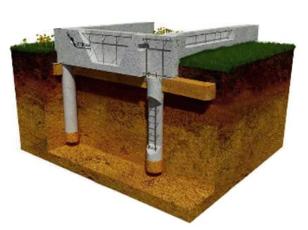 Строительство ленточного монолитного фундамента в Балашихе